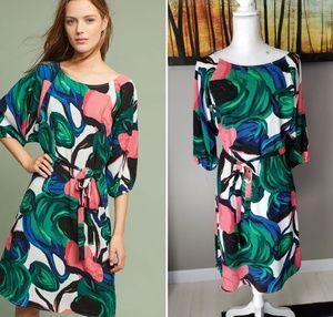 Anthropologie Callalily Kimono Dress
